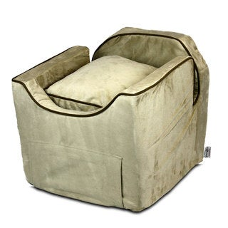 Snoozer Luxury Microsuede Lookout II Dog Buckskin Car Seat (2 options available)