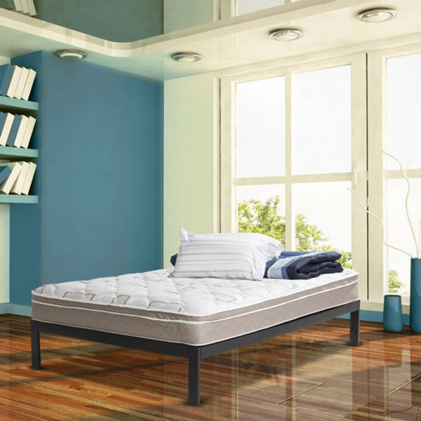 Wolf Posture Premier Eurotop Full-size Platform and Mattress Set