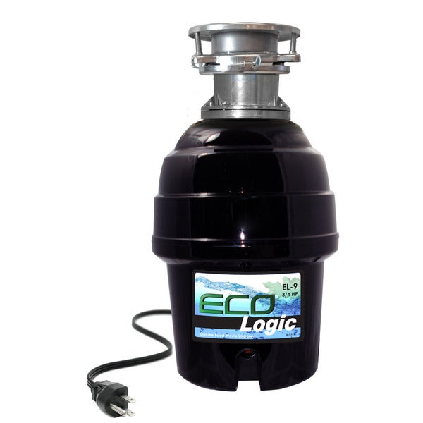 3/4 HP Eco-Logic 9 Deluxe Food Waste Disposer (Batch Feed)