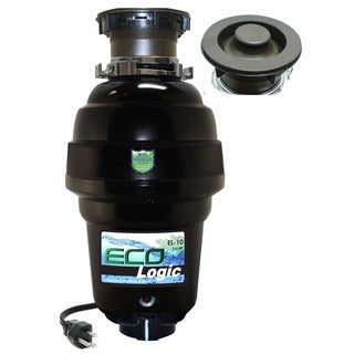 1 1/4 HP Eco-Logic 10 Designer Series Food Waste Disposer with Oil Rubbed Bronze Sink Flange