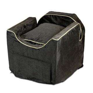 Snoozer Luxury Microsuede Lookout II Dog Dark Chocolate Car Seat