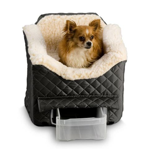 Snoozer Lookout II Dog Black Quilted Car Seat