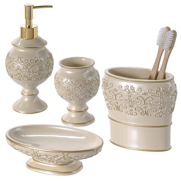 Shannon 4-piece Bathroom Accessory Set