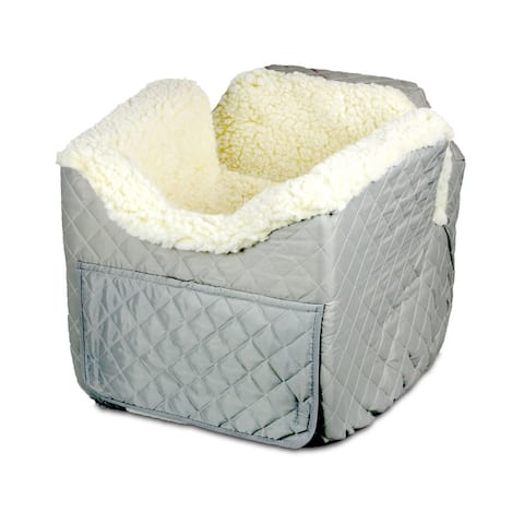Snoozer Lookout II Dog Quilted Grey Car Seat