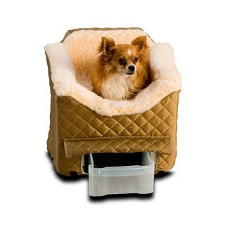 Snoozer Lookout II Dog Khaki Car Seat