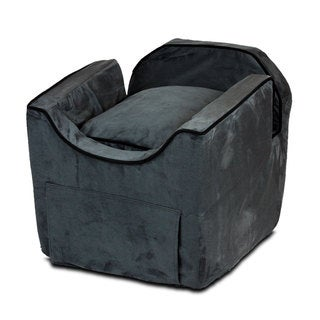 Snoozer Luxury Microsuede Lookout II Dog Anthracite Car Seat
