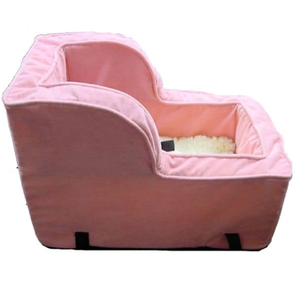 snoozer high back console pink dog car seat free shipping today 20145144. Black Bedroom Furniture Sets. Home Design Ideas