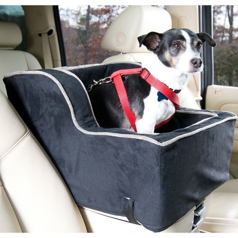 Snoozer High Back Console Black Dog Car Seat