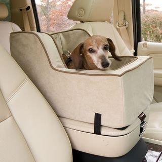 Snoozer Buckskin High-back Console Dog Car Seat (2 options available)