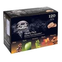 Bradley Smoker 5-flavor Bisquettes (120 Pack)