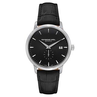Raymond Weil Toccata, Men's Stainless Steel Black Watch