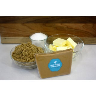 Blue Moose 1-pound Sea Salt Caramel Gourmet Fudge (Gift Box)