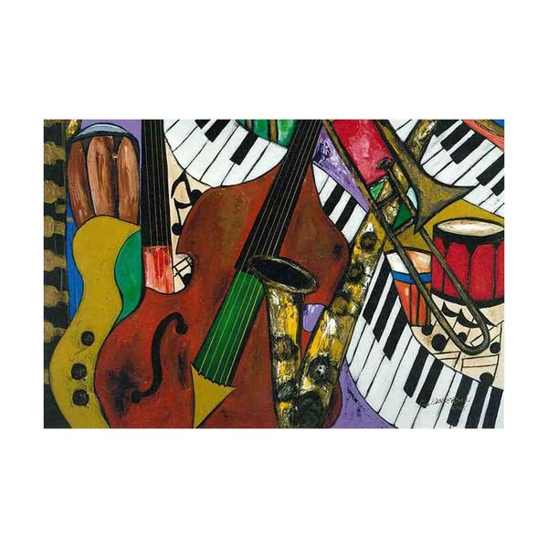 Jazz Mix Canvas Art by Kelvin Henderson
