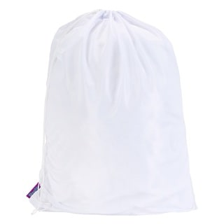 Woolite White Mesh Laundry Bag