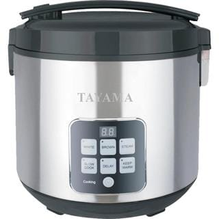 Tayama 10-cup Digital Rice Cooker and Food Steamer