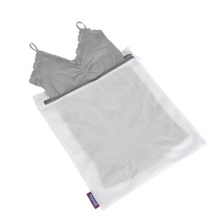 Woolite White Large Mesh Wash Bag