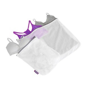 Woolite 2-pack White Mesh Wash Bags