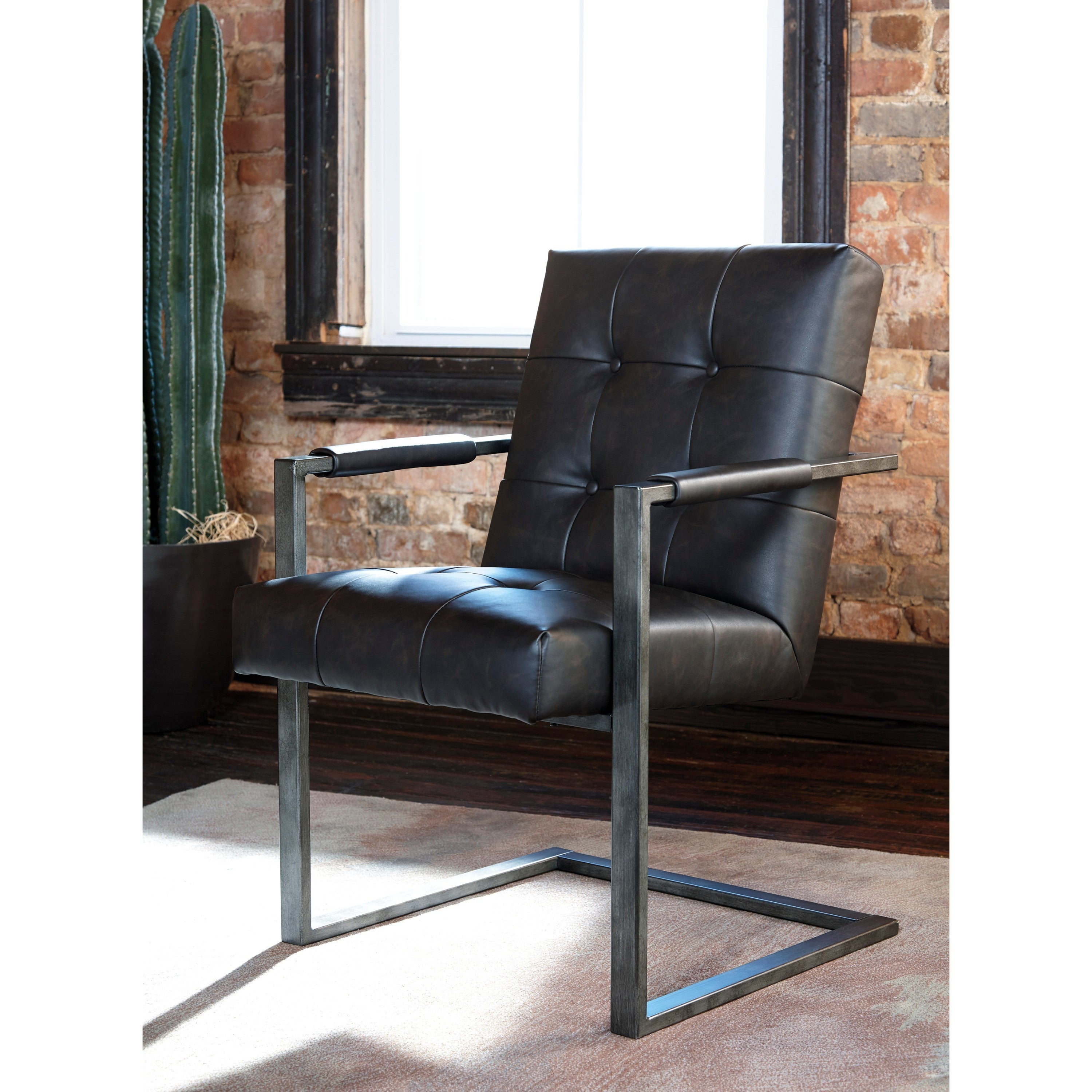 Ashley Starmore Brown Home Office Desk Chair (Set of 2) (...