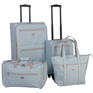 American Flyer Meander 4-Piece Spinner Luggage Set