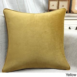 Plush Fuchsia Decorative Throw Pillow