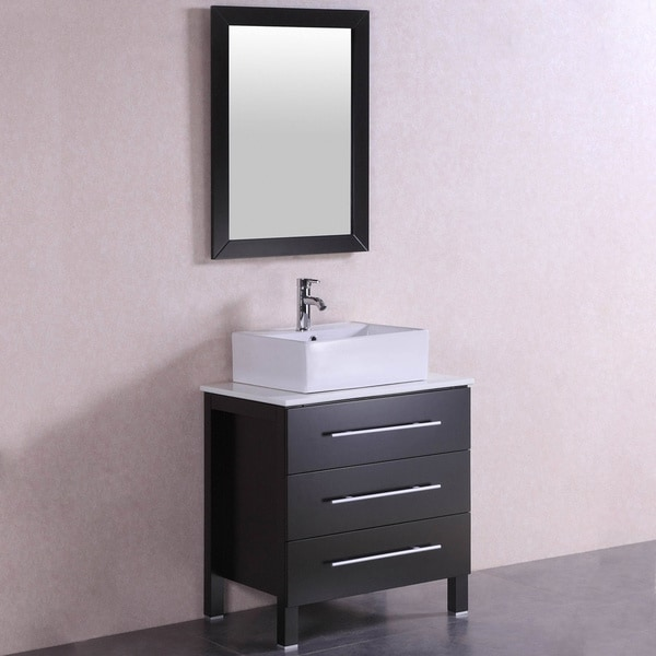 28 inch bathroom vanity with sink shop 28 inch belvedere modern freestanding espresso 24754