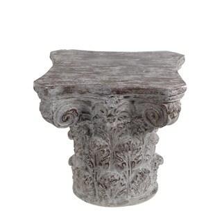 Privilege Stone Grey Ceramic Accent Table