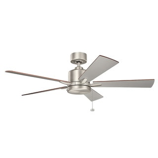 Kichler Lighting Bowen Collection 52-inch Brushed Nickel Ceiling Fan