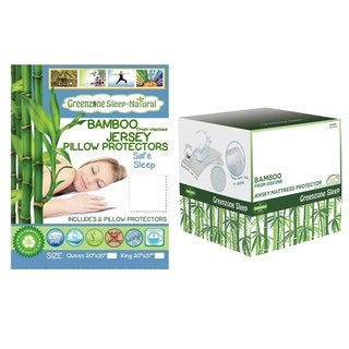 Link to Viscose from Bamboo Jersey Mattress Protector with Pillow Protectors Similar Items in Mattress Pads & Toppers