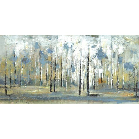 ArtMaison Canada. 'Sky Branches' 24x48 Wall Art