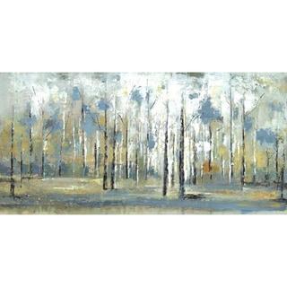 Hobbitholeco. 'Sky Branches' 24x48 Wall Art