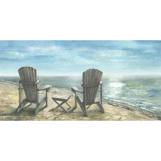 Hobbitholeco 'Muskoka Chairs' 24X48 Print