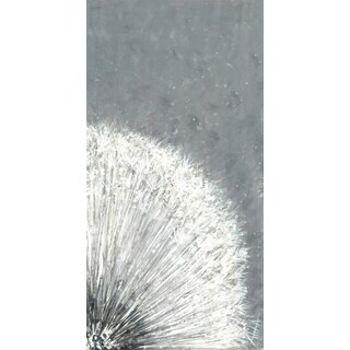 Hobbitholeco 'Flower Burst II' 8.5 x 18.5-inch Canvas Wall Art
