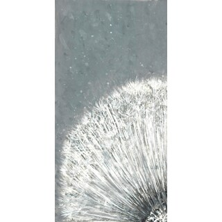 HobbitHoleCo. 'Flower Burst I' Gallery-wrapped Canvas 8.4 x 18.5-inch Wall Art