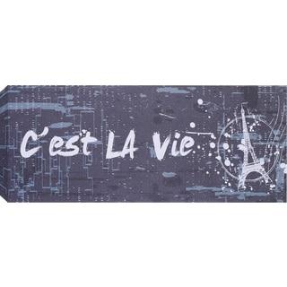 Hobbitholeco 'Paris Tower' Wall Art (8 x 20)