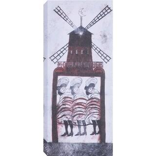 Hobbitholeco 'Wind Wheel' Print