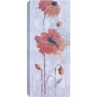 Hobbitholeco. 'Orange Flowers' Wall Art