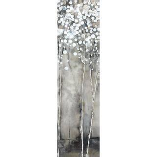 Hobbitholeco 'Tree Flowers IV' Grey/ White Canvas Artwork|https://ak1.ostkcdn.com/images/products/13465463/P20153375.jpg?impolicy=medium
