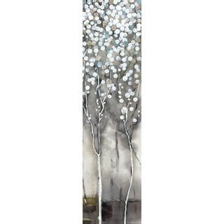 Hobbitholeco. 'White Tree Flowers II' Wall Art
