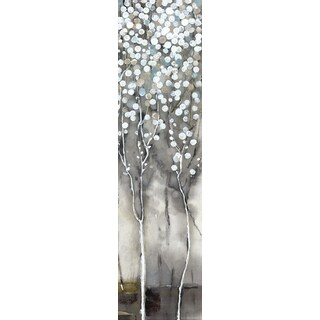 Hobbitholeco. 'White Tree Flowers II' Wall Art