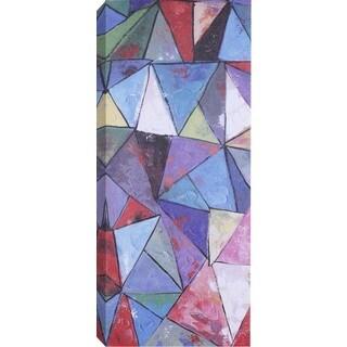 Hobbitholeco. 'Abstract Shape' Wrapped Canvas Art
