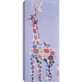 Hobbitholeco. 'Giraffe Spots' Wrapped Canvas Art