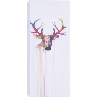 Hobbitholeco. 'Deer Face II' Wall Art