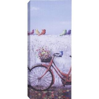 Hobbitholeco Flower Basket Bike Art