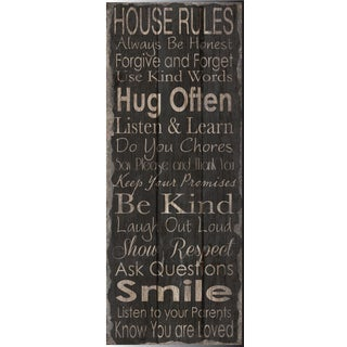 Hobbitholeco 'Smile' Canvas Wall Art