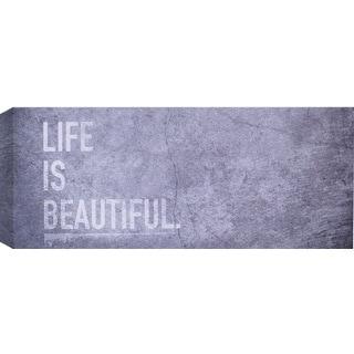 Hobbitholeco 'Life is Beautiful' Print