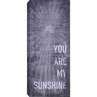 Hobbitholeco 'You Are My Sunshine' Canvas Wall Art