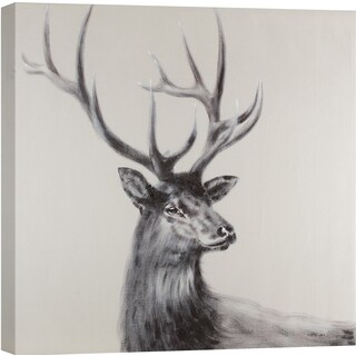 Hobbitholeco. 'Deer Face I' Wall Art