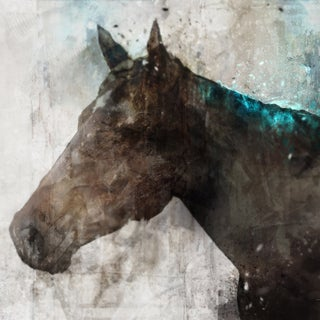 Hobbitholeco 'Horse' Canvas Wall Art