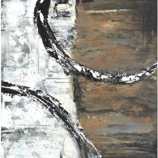 Hobbitholeco. 'Snake II' Wrapped Canvas Art