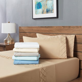 Home Dynamix Forever Soft Collection Diamond Hem Ultra-Soft Sheet Set